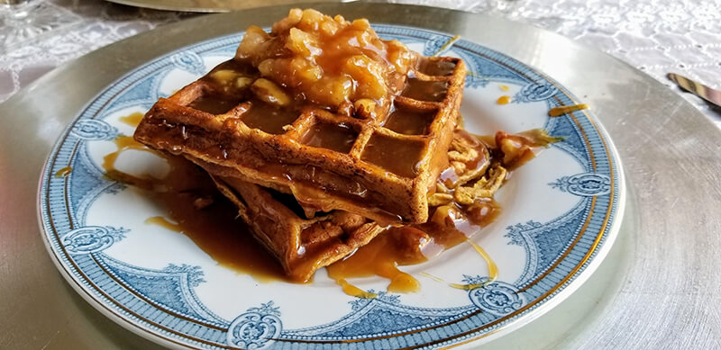 Apple-caramel-waffles-Buffalo-Harmony-House