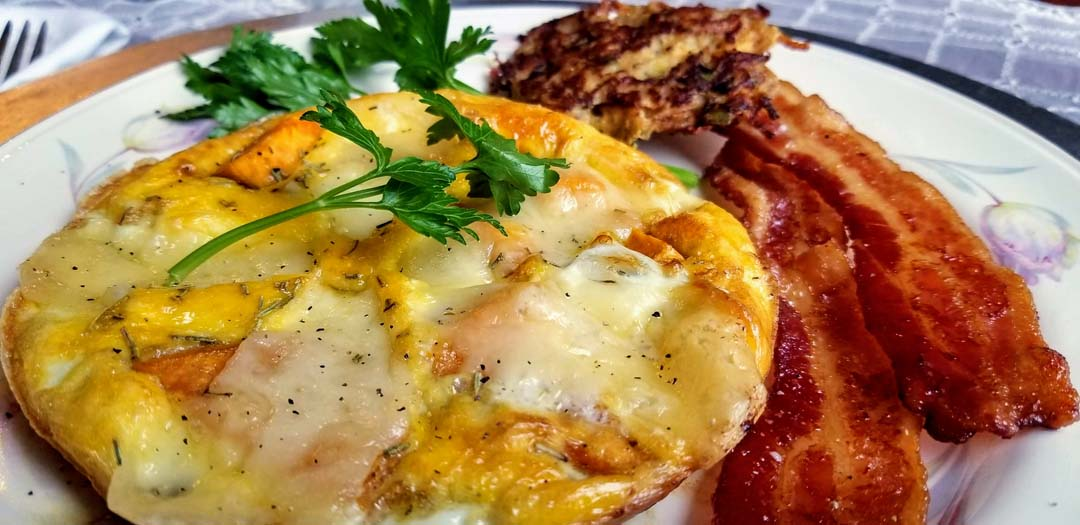 Fritata with bacon – Buffalo Harmony House – R