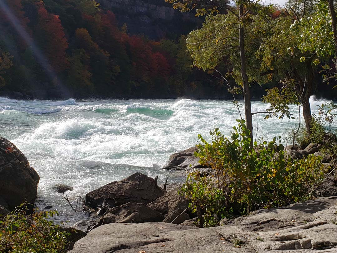 Rapids at Devils Hole State Park