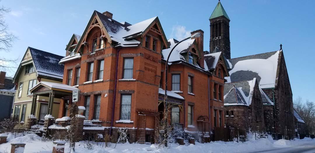 Winter at Buffalo Harmony House